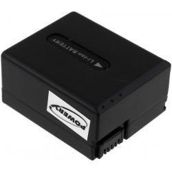baterie pro Sony Typ NP-FF50 1400mAh