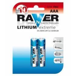 baterie Raver FR03 AAA lithium