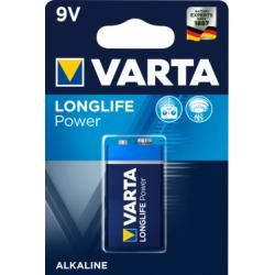 baterie Varta Typ 6LR61 9V 1ks balení originál