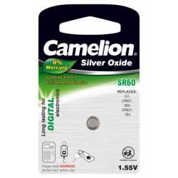 Camelion baterie pro hodinky SR60/SR60W / G1 / LR621 / 364/164 / SR621 1ks balení originál