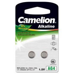 Camelion knoflíkové články AG4 2ks balení originál