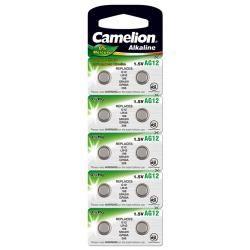 Camelion knoflíkový článek AG12 10ks balení originál