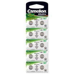 Camelion knoflíkový článek AG7 10ks balení originál