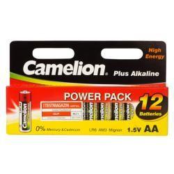 Camelion Plus alkalická LR6 / tužková 12ks balení originál