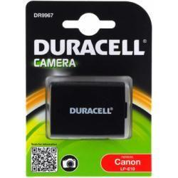 Duracell baterie pro Canon Typ LP-E10 originál