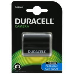 Duracell baterie pro Panasonic Lumix DMC-FZ30 Serie originál