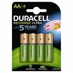 Duracell Duralock Recharge Ultra HR6 4ks balení originál