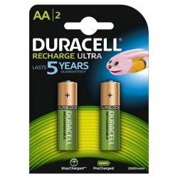 Duracell Duralock Recharge Ultra tužková AA aku 2ks balení originál
