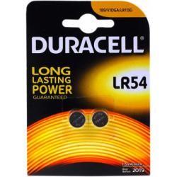 Duracell knoflíkové články Typ LR54 2ks balení originál