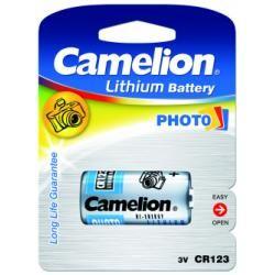 Foto baterie Camelion CR123 / CR123A / EL123A / DL123A / CR17345 / 1ks balení originál