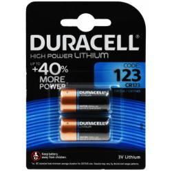 Foto baterie Duracell Ultra 123 CR123A DL123A RCR123 2ks balení originál