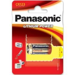 Foto baterie Panasonic Photo Power 123 CR123A RCR123 1ks balení originál
