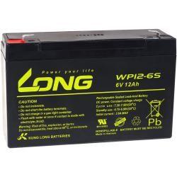 KungLong náhradní baterie pro Soalranlagen výtahy 6V 12Ah (nahrazuje také 10Ah)