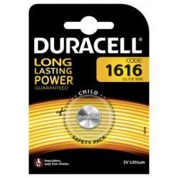 lithiové knoflíkové články Duracell DL1616 1ks balení originál