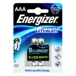 Lithium baterie Energizer AAA 2ks balení originál