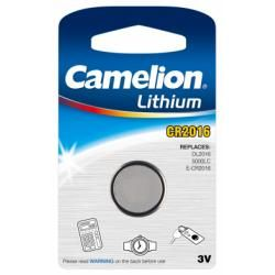 litiový knoflíkový článek Camelion CR2016 1ks balení originál