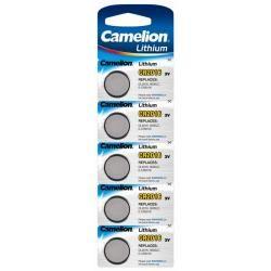litiový knoflíkový článek Camelion CR2016 5ks balení originál