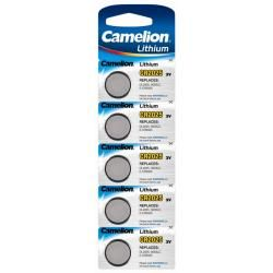 litiový knoflíkový článek Camelion CR2025 5ks balení originál