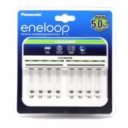 nabíječka Panasonic eneloop BQ-CC63 pro 1-8 NiMH AA, AAA aku originál