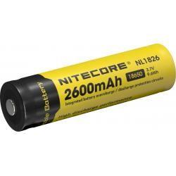 NITECORE 18650, Li-Ion 3,7V, 2600mAh originál