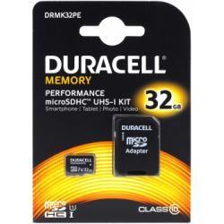 paměťová karta Duracell microSDHC 32GB UHS-I s adaptérem