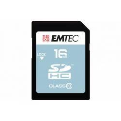 Paměťová karta EMTEC SDHC 16GB blistr Class 10
