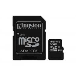 paměťová karta Kingston microSDHC 32GB blistr Class 10