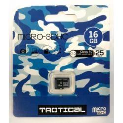 paměťová karta Tactical microSDHC 16GB Class 10
