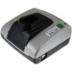 Powery nabíječka s USB pro baterie pro Metabo BSZ 18 Impuls