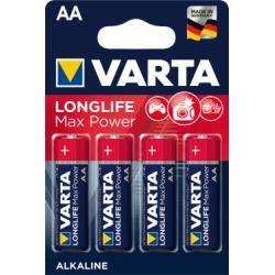 Varta Max Tech alkalická LR6 baterie 4ks balení originál